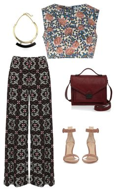 Print by sandrine-sandy-ashimwe on Polyvore featuring Glamorous, WearAll, Gianvito Rossi, Loeffler Randall and Ben-Amun