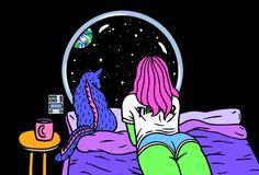 Femmes extraterrestres, galaxie et part de pizza : Bienvenue dans l'univers de Robin Eisenberg