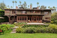 The owners, Tom and Nancy Reitze, purchased this historic Craftsman-style home for $1.3 million in 1995, according to public records. Built in 1906, this Greene & Greene-designed home typifies the American Arts-and-Crafts style that the architect brothers, Charles and Henry Greene, helped popularize. The home was added to the National Register of Historic Places in 1980, according to National Park Service documents.