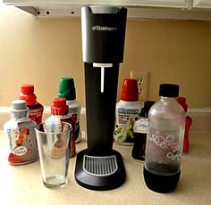 """I couldn't be happier or more excited about the SodaStream soda maker."""