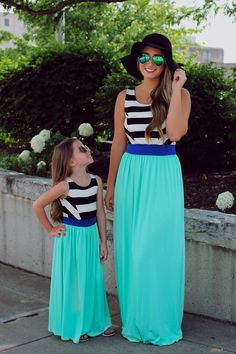 Love by the Moon Maxi from BB Children's Boutique. Saved to Things I want as gifts. Outfits Niños, Twin Outfits, Mommy And Me Outfits, Kids Outfits, Mother Daughter Matching Outfits, Mother Daughter Fashion, Matching Family Outfits, Toddler Fashion, Kids Fashion