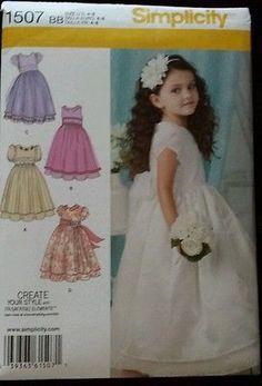 Flower Girl, Birthday, Party Dress Pattern