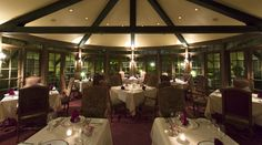 Atwater's in located in The Herrington Inn #genevail #finedining