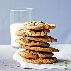 Sweet and Salty Peanut Chocolate Chunk Cookies | CookingLight.com