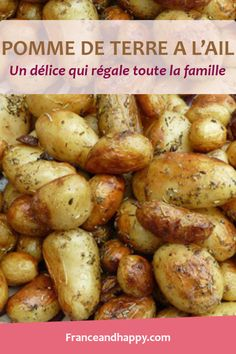 -TUERIE- Pomme de terre à l'ail qui régalent toute la famille !