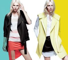 Coming Step Spring Campaign - Cool ways to wear boxy, oversized jacket.
