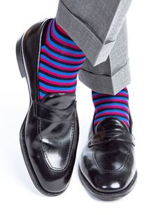 Dapper Stripes sock available NOW at the Urban Professor Shop for $22.00.  Sign-up for free to www.urbanprofessorshop.com and receive 5% off of all orders as a member with the promo code:  MEMBER