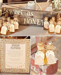 Honey favors!