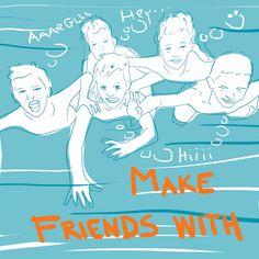 Make friends with - by Livia Prudilova - Anglicky efektívne
