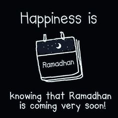 Ya Allah... As we await Ramadhan,  Grant us good health  Purity of intention Prosperity  & Grace to observe Ramadhan