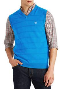 Chaps Big & Tall Cotton Sweater Vest | belk Mens Big And Tall, Big & Tall, Mens Cotton Sweaters, Slacks, Preppy, Casual Outfits, Men Sweater, Vest, Layering