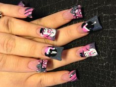 I'm dreaming of a pink Christmas - Nail Art Gallery
