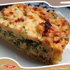 Mamá no solo nos engríe, sino también nos cuida, por eso nos prepara  Comida saludable y nutritiva, como este Soufflé de Espinacas. Conoce sus  Ingredientes: http://www.cocinaperu.com/platos-de-fondo/souffle-de-espinacas