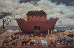 Mary Singleton Painting - Noah's Ark