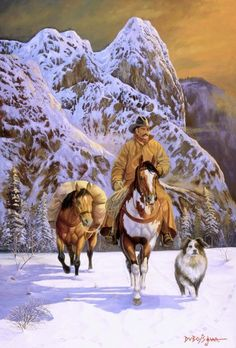 All Creatures Great and Small: Pardners by Howard Dubois