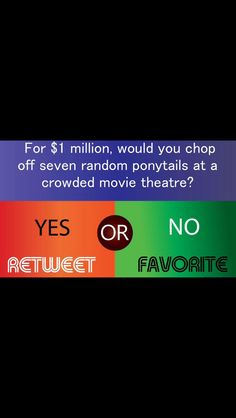 DUH. comment if no, share if yes!