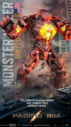 #PacificRim (2013) - Monster Killer