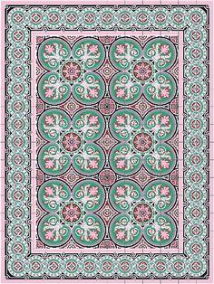 Los diseños de las losas hidráulicas habaneras coloridas y suelen ser más orgánicas, con flores y detalles de la naturaleza.