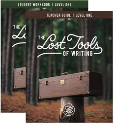 The Lost Tools of Writing, Level 1 Teacher Complete Set – Classical Conversations Bookstore
