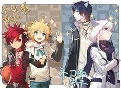Ciel ,Add,chung and elsword
