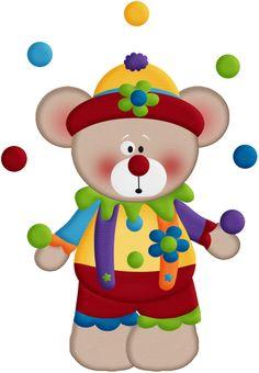 Circus Juggling Bear