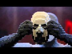 Exposição com esculturas feitas de LEGO chega ao Rio | Catraca Livre