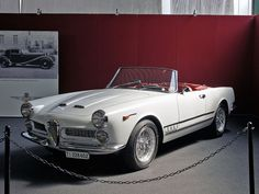 Alfa Romeo 2000 Spider Touring - 1960