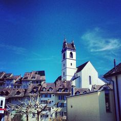 Aarau Swiss Design, Most Beautiful Cities, Empire State Building, Denmark, Switzerland, City, Instagram Posts, Travel, Beauty