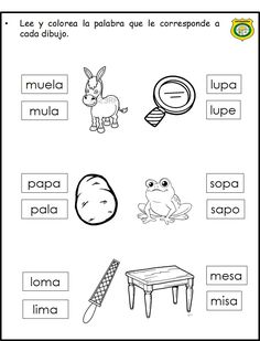 Spanish Lessons For Kids, Spanish Teaching Resources, Spanish Lesson Plans, Learn Spanish, Bilingual Education, Preschool Education, Teaching Activities, Speech Language Therapy, Speech And Language
