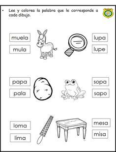 completa Preschool Spanish, Spanish Lessons For Kids, Spanish Lesson Plans, Spanish Classroom, Learn Spanish, Preschool Education, Bilingual Education, Teaching Activities, Spanish Worksheets