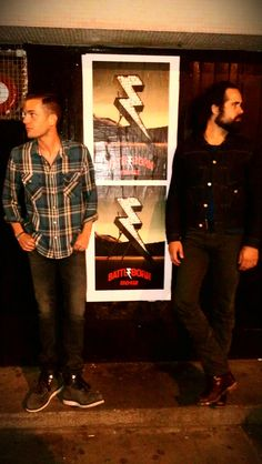 LURVE this! Ronnie Vannucci & Brandon Flowers
