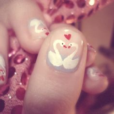 Welcome to YUMMY NAILS nail art images all at your fingertips! Featuring amateur & professional nail art from all over the world Love Nails, Pretty Nails, My Nails, Fancy Nails, Valentine Nail Art, Holiday Nail Art, Nailart, Manicure Y Pedicure, Heart Nails