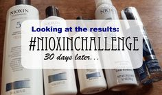 NIOXIN has an amazing product line for virtually every hair type. There are several different systems fitted to match your hair and lifestyle. Have overly frizzy hair? What about thinning hair? Do you use chemicals in your hair? Whatever you answer to those questions there is a system for you. #NIOXINChallenge