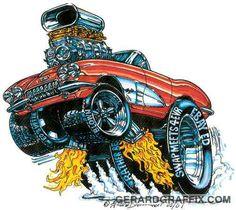 Street Rod Cartoons   Illustrations: T-SHIRTS (Car Shows)