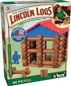 Amazon.com: LINCOLN LOGS Lake Union Lodge: Toys & Games