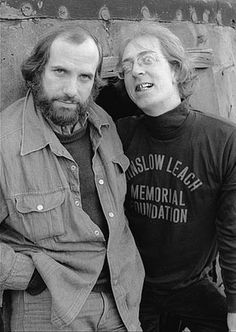 Brian De Palma and William Finley--- Phantom of the Paradise