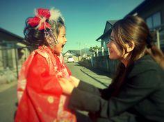 笑顔 smile 爆笑 親子 母の愛 love 小田和正BGM