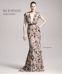 Bergdorf Goodman: Evening Gowns: Naeem Khan