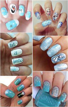 disney frozen nails movies