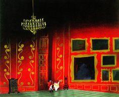 Cinderella - Mary Blair Mary Blair, Studio Disney, Disney Artists, Disney Concept Art, Commercial Art, Visual Development, Vintage Disney, American Artists, Alice In Wonderland