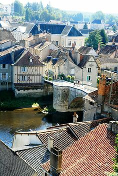Montmorillon, France (****Montmorillon is a commune in the Vienne department, in the Poitou-Charentes region, in western France.)