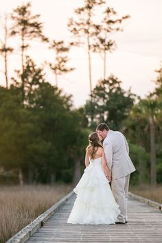 Charleston Weddings - Mint, Aqua & Khaki Daniel Island Club wedding by Carolina Photosmith and Ooh! Events