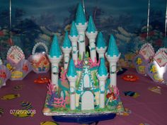 Under The Sea Wedding Theme | Here is the Little Mermaid cake I created