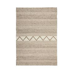 Home Republic - The Wool Collection Rug Natural & Beige Tansy Home Republic, Natural Rug, Floor Rugs, Hand Weaving, Apartment Balconies, Colours, Beige, Wool, Foyer