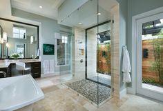 Model Home Interior Design - Ravenna 1291 - transitional - Bathroom - Tampa - Arthur Rutenberg Homes