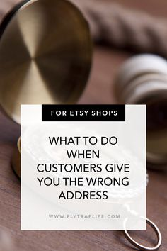 Sometimes Etsy buyers and customers give shops the wrong address. There are many ways to handle it that work like a charm. Unusual Things, Mistakes, Etsy Seller, Forget, Felt, Handle, Place Card Holders, Etsy Shop, Times
