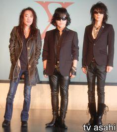 Yoshiki, Leather Jacket, Entertainment, Japanese, Boots, Music, Fashion, Studded Leather Jacket, Crotch Boots