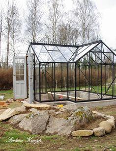 Fröken Knopp : I växthuset....