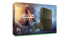 Xbox One S Battlefield 1 Special Edition Bundle (1TB) ★★★★★ Offer Price:  $349.00 The Xbox One S Battlefield 1 Special Edition Bundle Deals includes: 1.Special Edition Military Green 1TB Xbox One S console 2. Special Edition Military Green Xbox Wireless Controller 3.Battlefield 1: Early Enlister Deluxe Edition game download 4.Early access to the game on October 18 5.Hellfighter, Red Baron, and Lawrence of Arabia packs 6.3 exclusive large vehicle designs, plus 5 Battlepacks