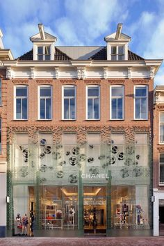 Trendstop - A Look at Chanel's new Glass-Fronted Flagship in Amsterdam